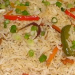 Kerala Recipes: Vegetable Fried Rice – Kerala Style