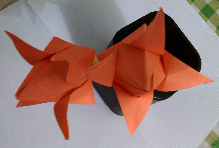 Paper crafts paper lotus papercraft flower tuts corner how to make paper lotus papercraft flower mightylinksfo Gallery