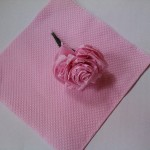 Paper Crafts – Paper Rose – Papercraft Flower Tissue Paper Flower