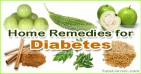 6 Natural Home Remedies for Diabetes, Natural Diabetes Treatment