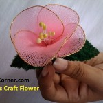 Fabric Craft Flower Making – Socks Flowers