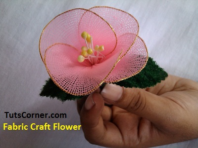 fabric_craft_sock_flower