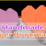 How to Make Handmade Paper Bookmarks – Paper Crafts