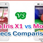Lava Iris X1 vs Motorola Moto E Specs Comparison and Review