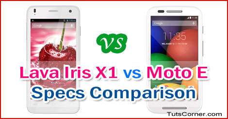 lava-iris-x1-vs-moto-e-specs-comparison