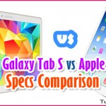 Samsung Galaxy Tab S 10.5 vs Apple iPad Air: Tablet Specs