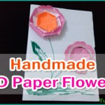 How to Make Handmade 3D Paper Flowers – Paper Crafts