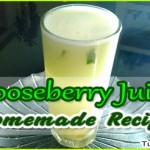 Gooseberry Juice Recipe – Tasty and Healthy Drink