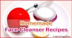 Natural Homemade Face Cleanser Recipes