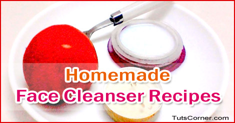 homemade-face-cleanser-recipes