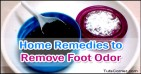 Home Remedies to Remove Foot Odor Naturally