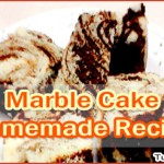 Marble Cake Homemade Recipe – Easy Preparation