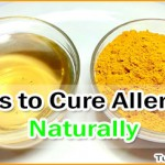 How to Cure Allergies Naturally using Home Remedies