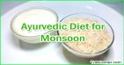 Ayurvedic Diet Tips for Monsoon, Healthy Monsoon with Ayurveda
