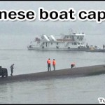 Chinese Boat Capsizes in the Yangtze River