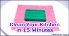 How to Clean Your Kitchen in 15 Minutes or Less