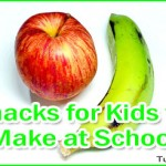 Easy Snacks for Kids to Make at School