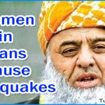 Fazal-ur-Rehman Blames Women Wearing Jeans for Earthquakes