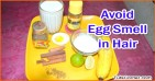 How to Apply Egg on Hair Without Smell