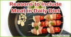 Reasons to Include Meat in Your Daily Diet