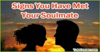 Top 5 Signs That You Have Met Your Soulmate