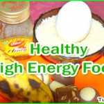 Healthy High Energy Foods List
