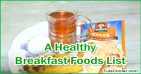 A List of Healthy Foods to Eat for Breakfast