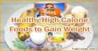 Healthy Foods High in Calories to Gain Weight Fast