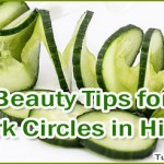 Beauty Tips for Dark Circles Under Eyes in Hindi