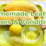 Homemade Leather Cleaner and Conditioner Recipes
