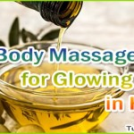 Homemade Body Massage Oils for Glowing Skin in Hindi