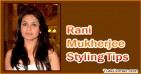 10 Styling Tips You Can Steal from Rani Mukherjee