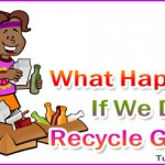 How is Not Recycling Goods Affecting Us?