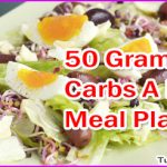 50 Grams of Carbs A Day Meal Plan