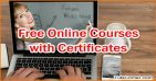 Are there any Free Online Courses with Certificates?