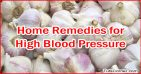Top 10 Home Remedies for High Blood Pressure