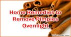 Top 10 Home Remedies to Remove Pimples Overnight